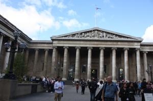 Façade Avant du British Museum